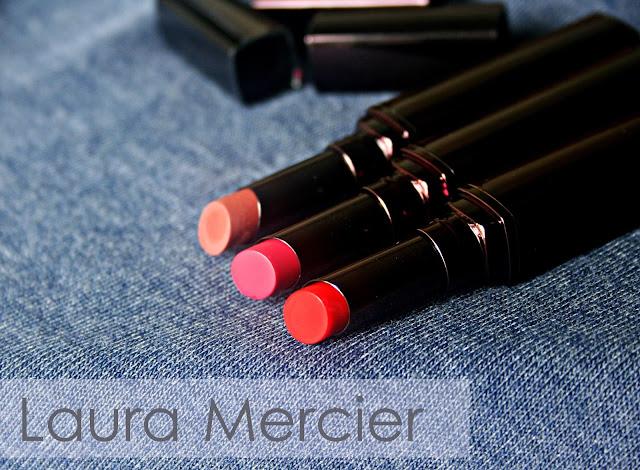 Laura Mercier Rouge Nouveu Weightless Lip Color in Sexy, Chic & Malt