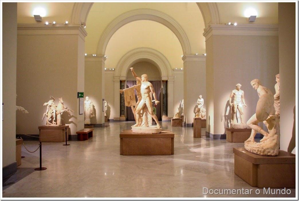 Museu Arqueológico Nacional de Nápoles, vestígios de Pompeia, Itália