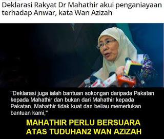 Mungkinkah Anwar Dan Mahathir Akan Bergabung?