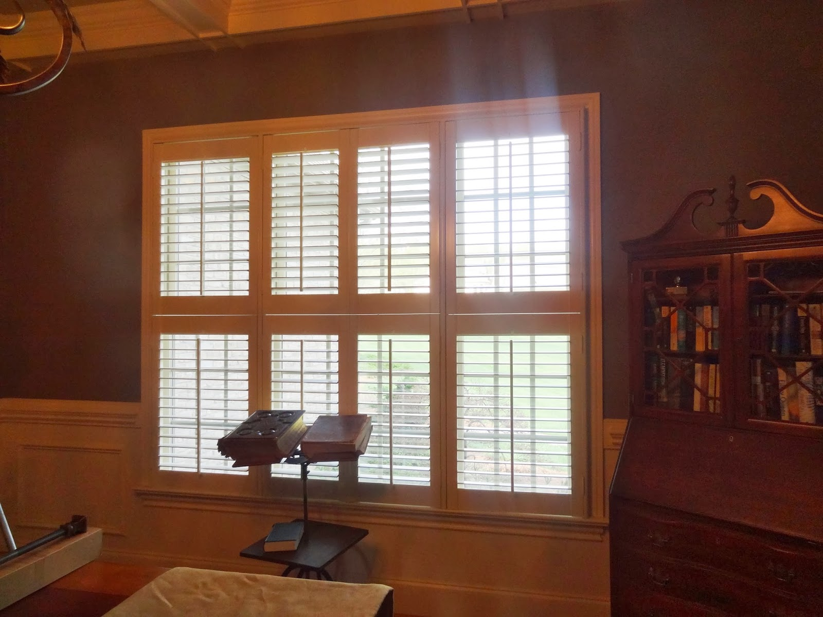 To make your window look larger, your room taller. Consider draperies
