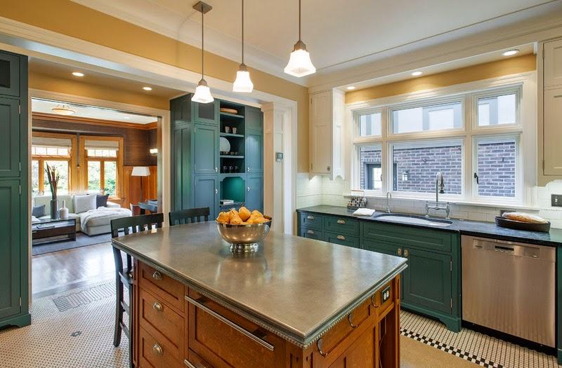 Hogares frescos materiales para encimeras de cocinas las - Materiales para encimeras cocina ...