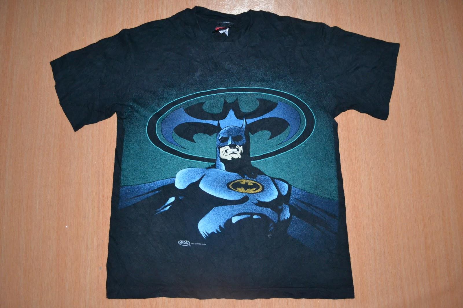 Anak liar rocks vintage batman dc comic superhero t for Retro superhero t shirts