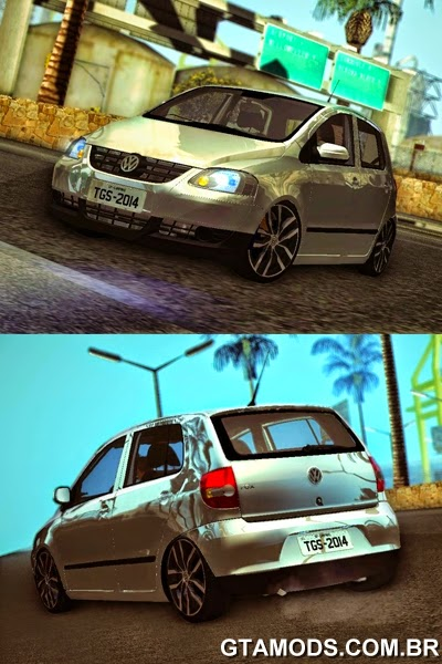 Volkswagen Fox + Rodas do Novo Golf
