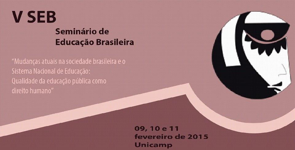 V Seminário de Educação Brasileira