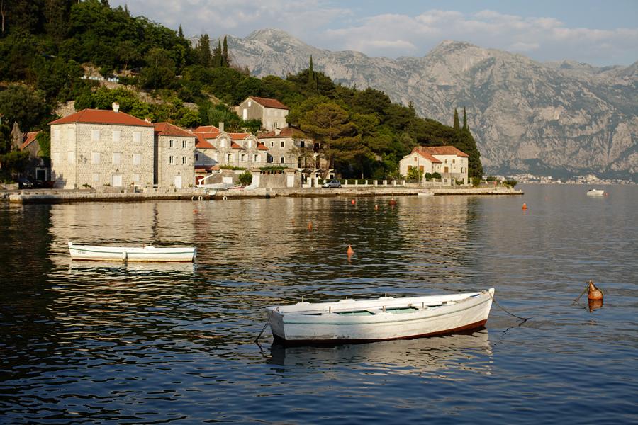 Montenegro, Kotor bay, Perast