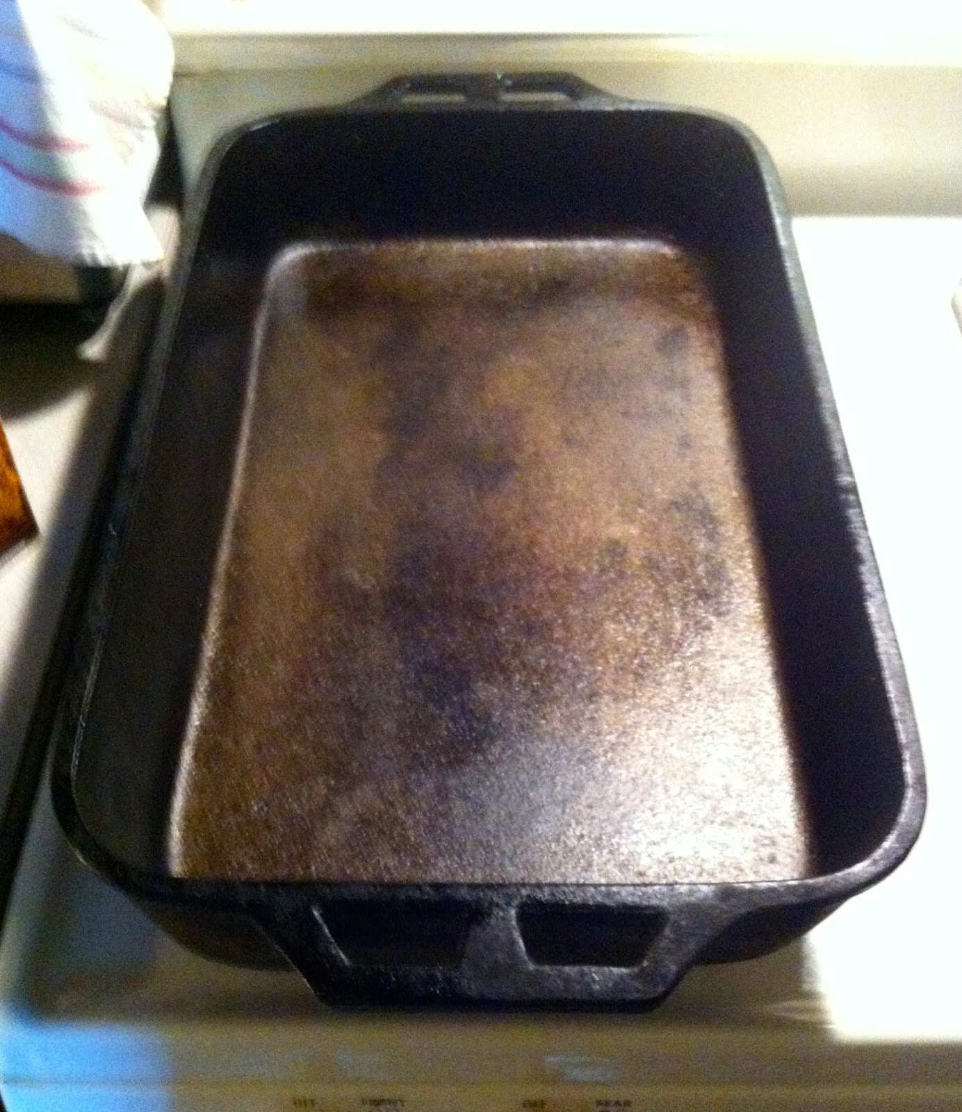 how to clean roasting pan