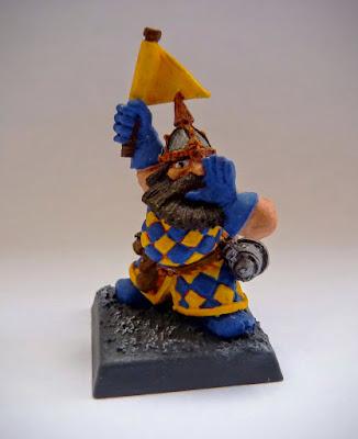 Dwarf Flame Cannon Crew for Warhammer Fantasy Battle