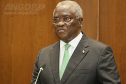 Presidente são-tomense confiante no desenvolvimento de Angola