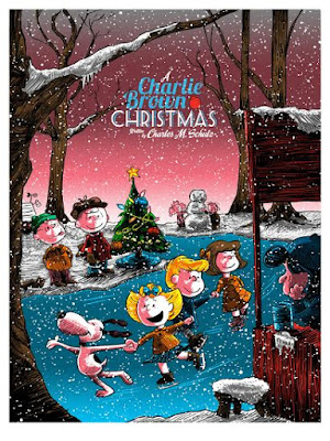 A Charlie Brown Christmas Standard Edition Screen Print by Tim Doyle x Ridge Rooms x Dark Hall Mansion