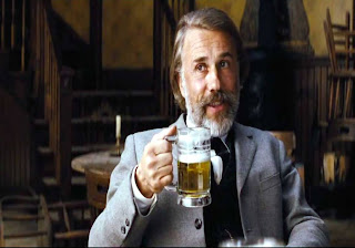 Christoph Waltz as Dr. King Schultz in Django Unchained, Directed by Quentin Tarantino