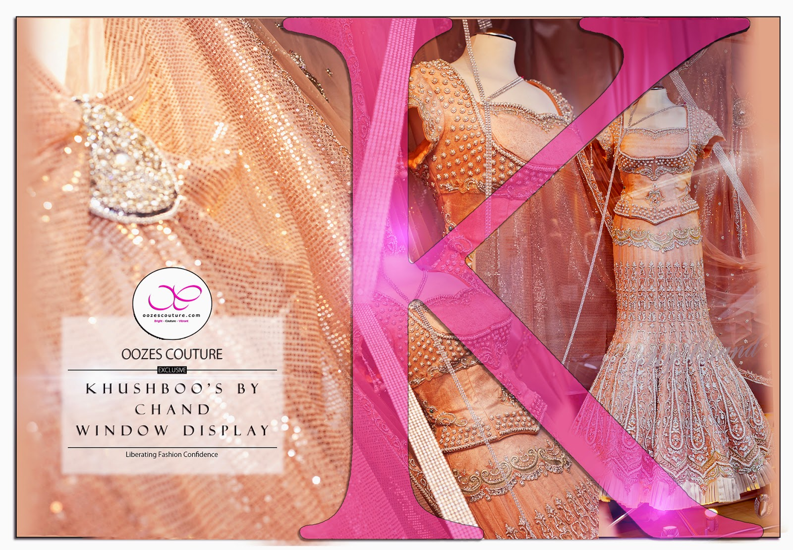 Khushboos by Chand the Birmingham based couture designer