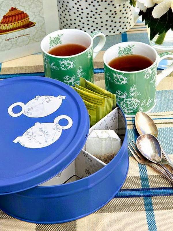 pots pour sachets de thé