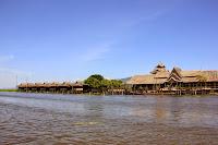 Resort turistico en el Lago Inle