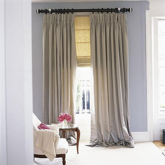 Decor me c mo y cuando usar las cortinas y estores - Combinar cortinas y estores ...
