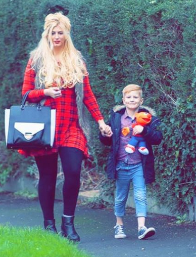 Popular British porn star Megan Clara, has come out with her story - she entered adult business so that she could buy expensive Christmas gifts to her five-year-old son Ashton.  Megan Clara, who is just 20, is a single mother and a new entrant to the porn business.