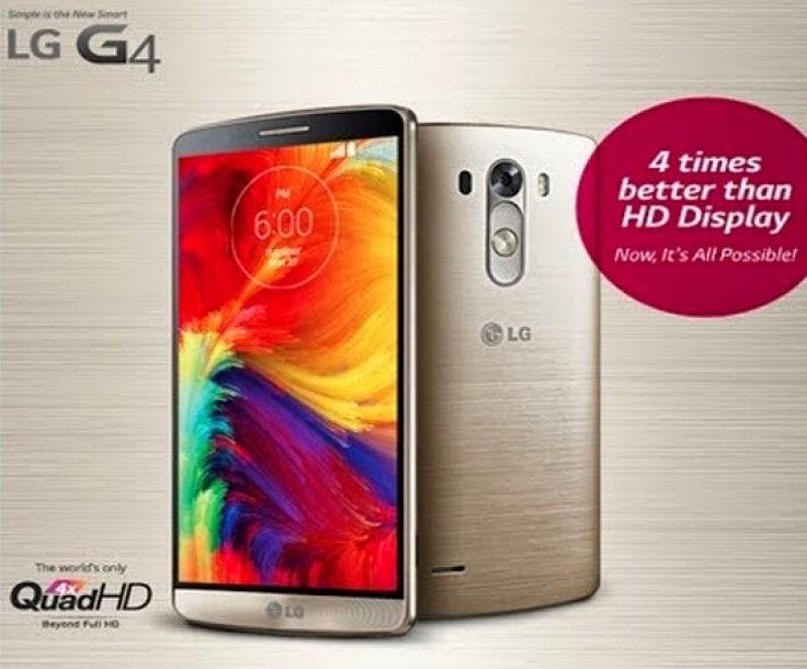 LG G4 Specs (Rumored)