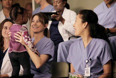 sandra oh cristina yang this magic moment grey's anatomy