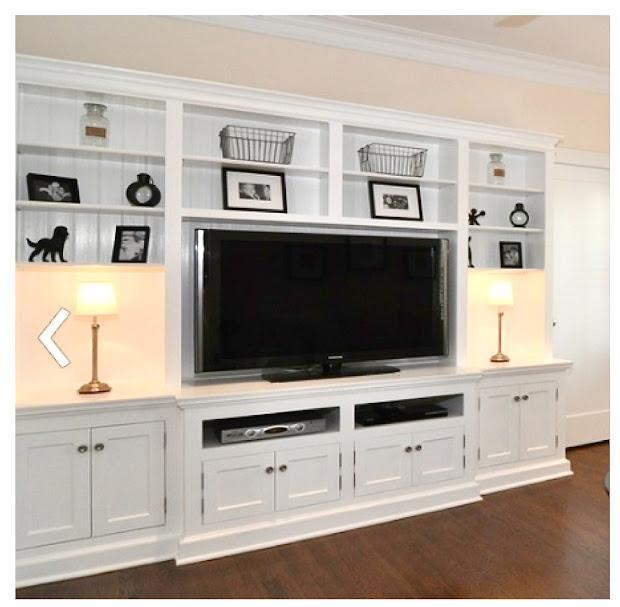 TV Built in Entertainment Center Ideas