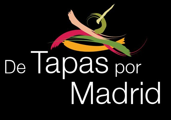 Cartel de tapas por Madrid