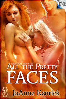 All the Pretty Faces is book two in the tales from the coffin series by JoAnne Kenrick with Decadent Publishing THe Edge series and is a collection of paranormal shorts in the style of tales from the crypt, red shoe diaries, and great expectations.