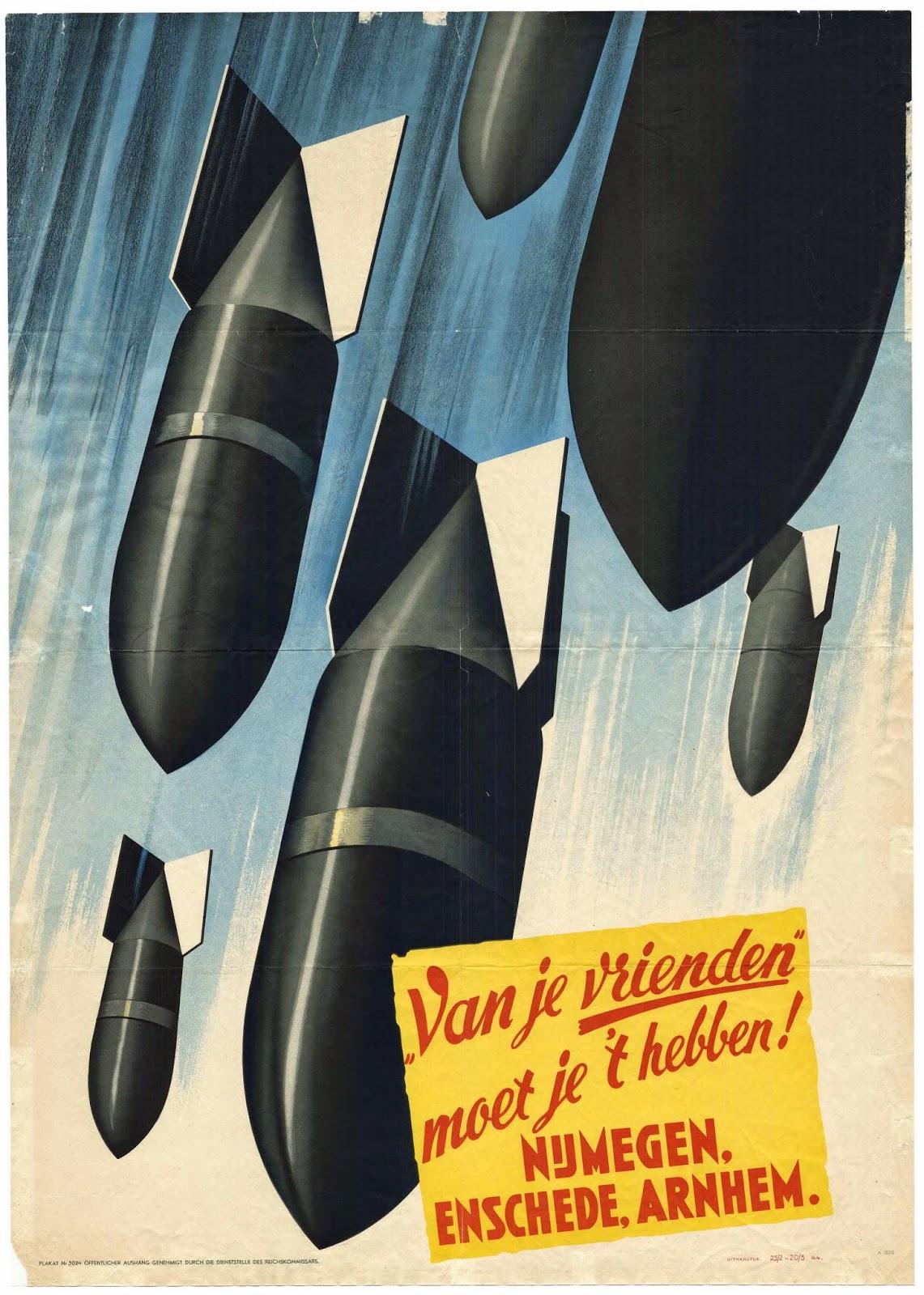 Duitse propagandaposter