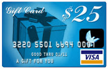 Enter To Win $25 Visa Gift Card