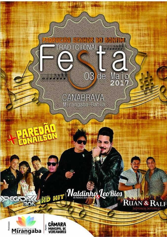 Festa 03 de Maio em Canabrava