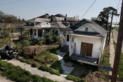 Abandoned Houses in New Orleans, Louisiana Seen On www.coolpicturegallery.us