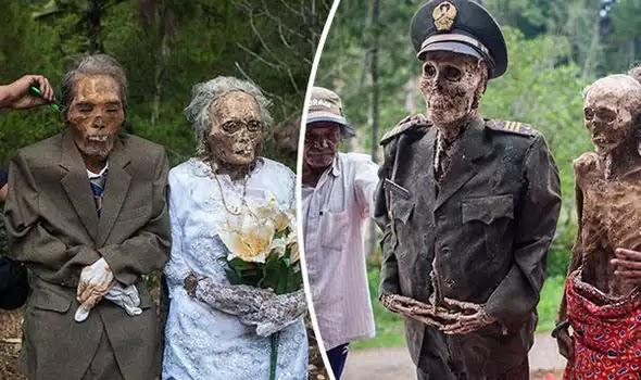 Ινδονησία: ξεθάβουν τους προγόνους τους. Το γιατί θα σας κάνει να σαστίσετε!