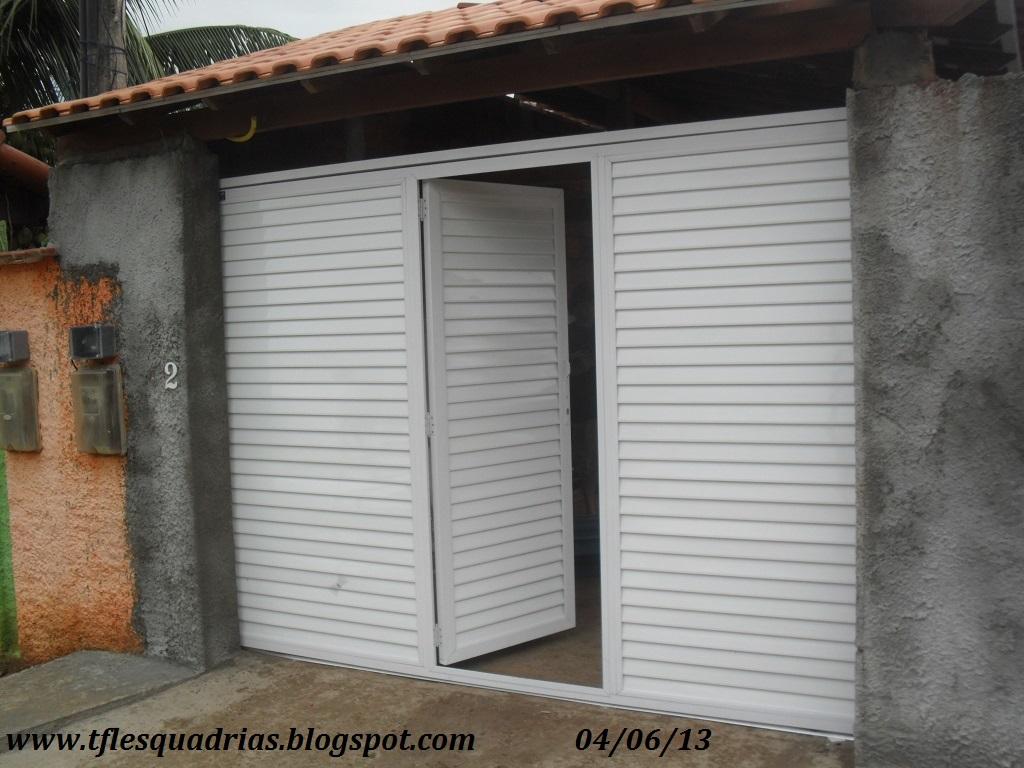#865E45 Portões de Alumínio Fotos e modelos Preços Apartir de R$ 1.499 90 1650 Janela De Aluminio Leroymerlin