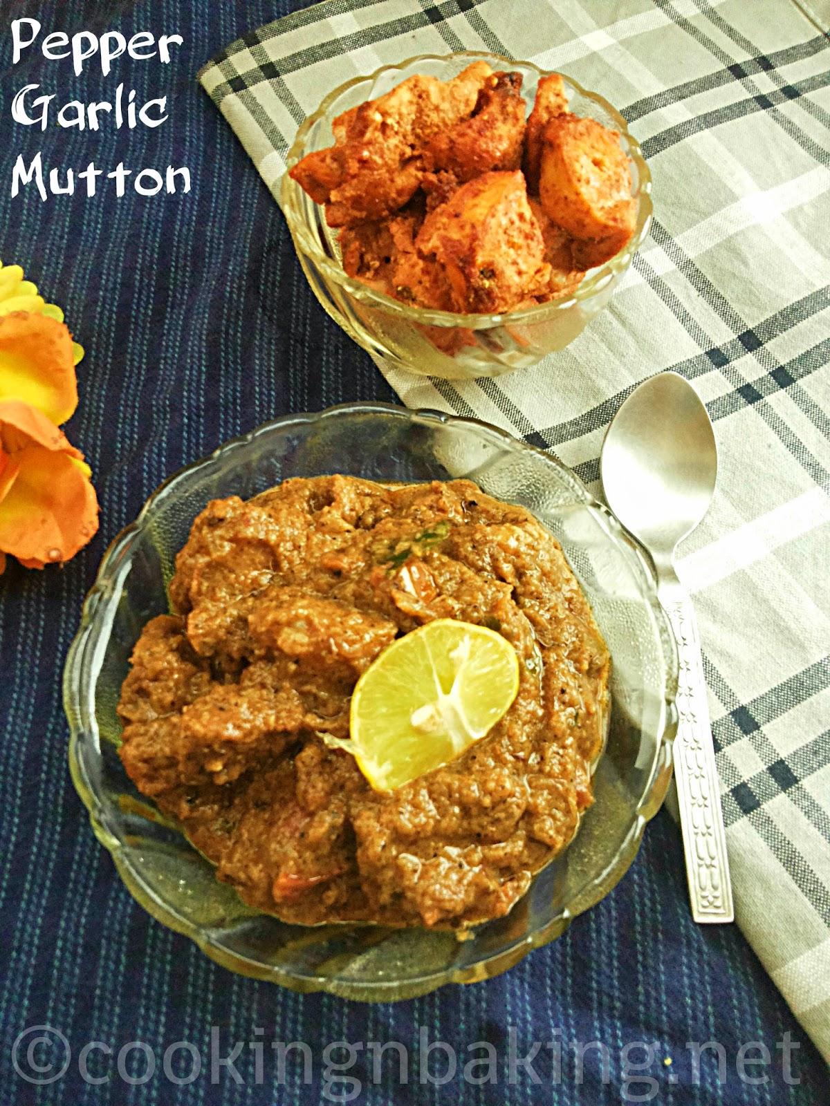 Pepper Garlic Mutton