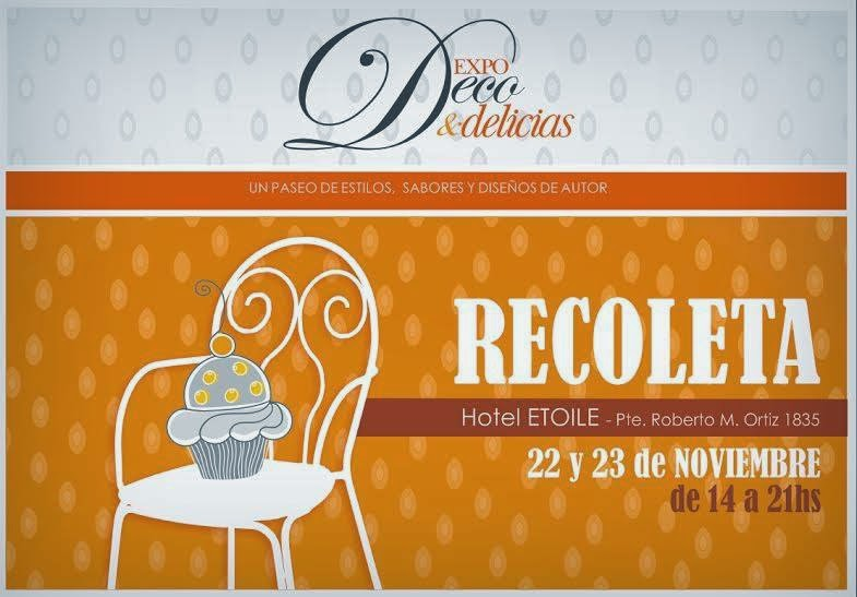 EXPO DECO & DELICIAS - DISEÑOS DE AUTOR - 2014