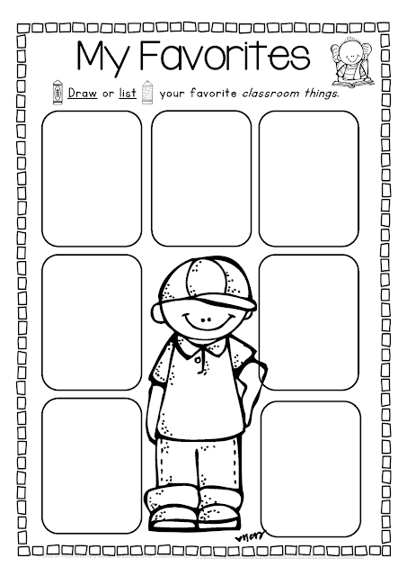 End Of The Year Coloring Pages For Kindergarten : End of the year memory book and activities clever