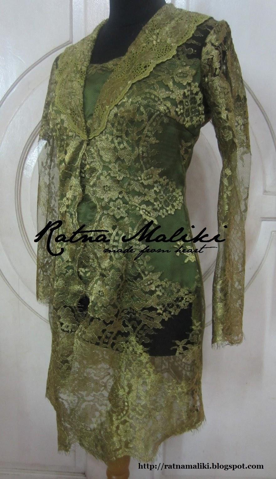 Kebaya Modern Wisuda Muslim Baju Kurung Gaun