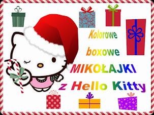 Kolorowe boxowe Mikołajki z Hello Kitty
