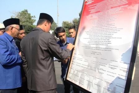 Deklarasi Gerakan Masyarakat Anti Komunis Dalam Memperingati Hari Kesaktian Pancasila di Subang