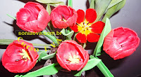Crafts Flor Tulipa EVA