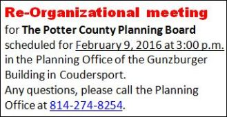 2-9 Planning Board Reorganizational Meeting