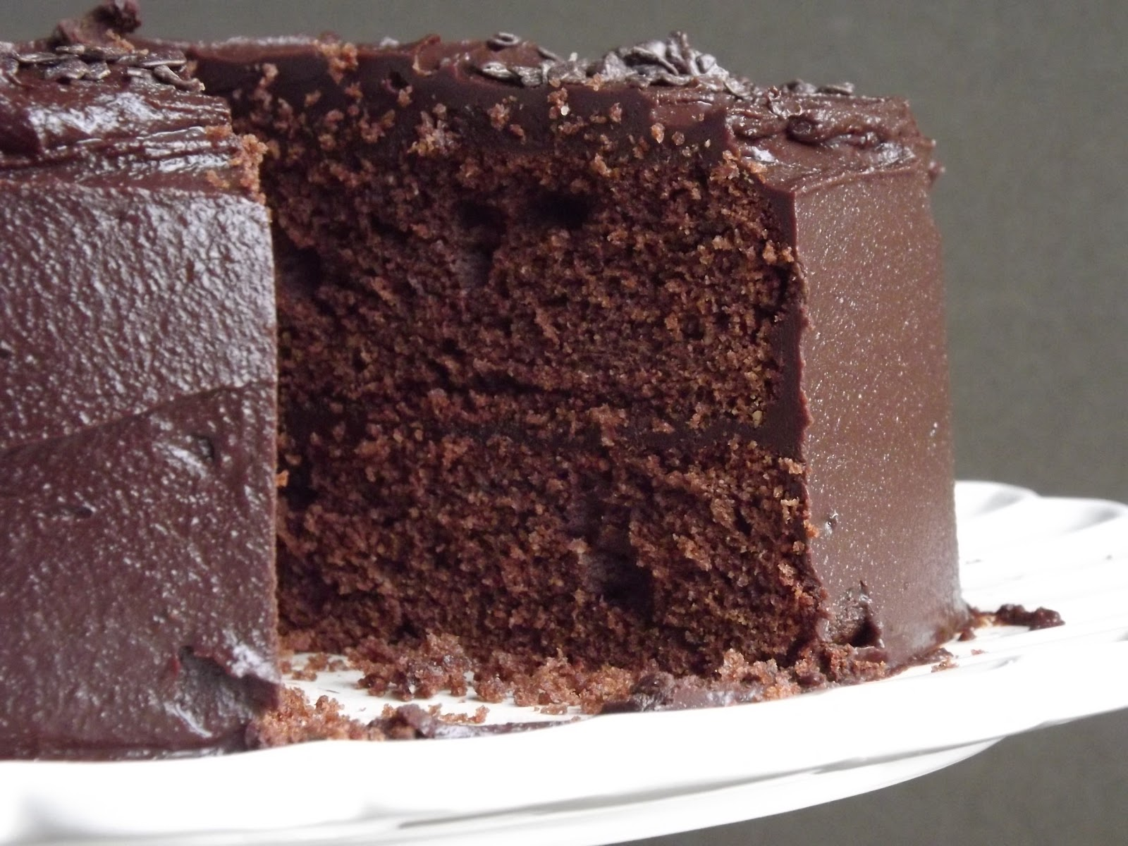 Fold in the Flour: Chocolate Fudge Cake
