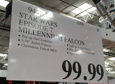 Deal for the Star Wars The Force Awakens Millennium Falcon at Costco