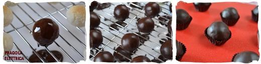 Biscotti al Cocco glassati al Cioccolato