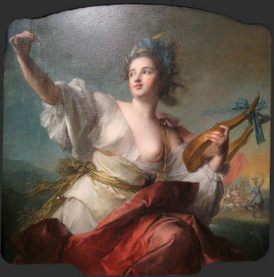 Jean-Marc Nattier Muse of music and dance one objectivist's art object of the day