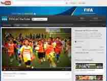 FIFA Tv en YouTube canal de la FIFA en YouTube