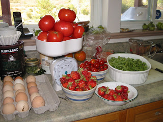 harvest+sept+13+08 Wordless Wednesday   Our Garden Harvests