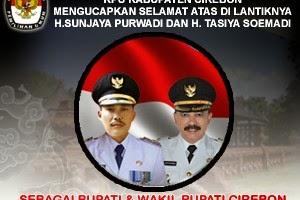 Pelantikan Bupati dan Wakil Bupati Cirebon Periode 2014-2019