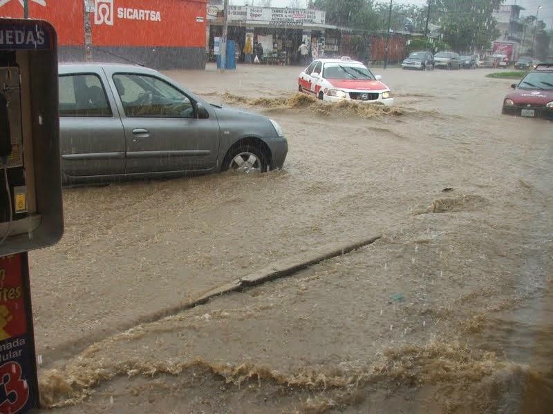 Suman 7 los municipios afectados por lluvias en el estado