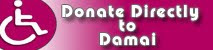 DONATE ONLINE TO DAMAI - Please click on the link below