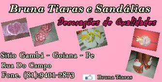 Divulgação: Bruna Tiaras e Sandálias, Decorações de Qualidades