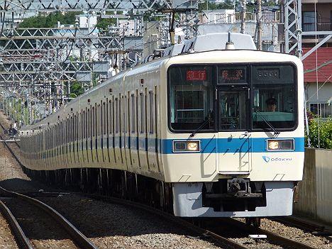 小田急電鉄 急行 藤沢行き 8000形