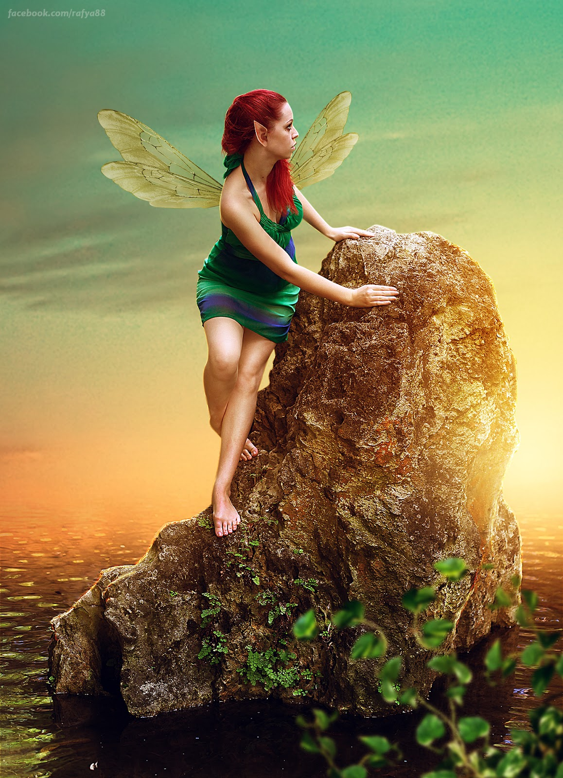 Photo manipulation tutorial photoshop lonely fairy rafy a photo manipulation tutorial photoshop lonely fairy baditri Images